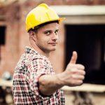 thumbs up fra tømrer